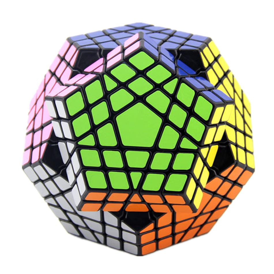ShengShou Megaminxeds-مكعبات Dodecahedron 5x5 ، ألعاب ألغاز السرعة ، فكرة هدية الكريسماس للأطفال