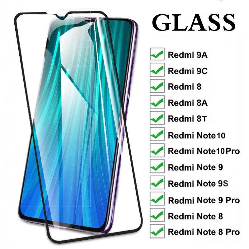 Cristal Protector para Xiaomi Redmi Note 10 8 9 Pro Max 9s...