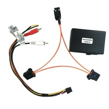 Voor Audi A6 A7 A8 Q7 05-09 AUX Auto Glasvezel Decoder Versterker Adapter