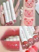 new arrival lip gloss mirror surface water lip tint women beauty cosmetic lip makeup lipstick long lasting waterproof