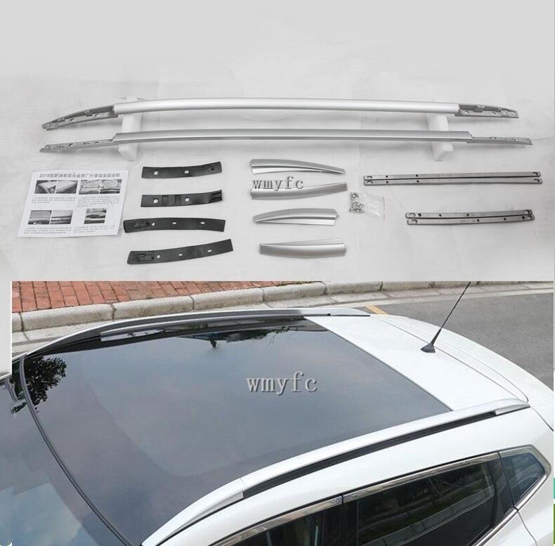 ملحقات سيارة لنيسان قاشقاي J11 2019 ، قضبان جانبية للسقف العلوي ، رف شحن الأمتعة ، طقم غطاء صب