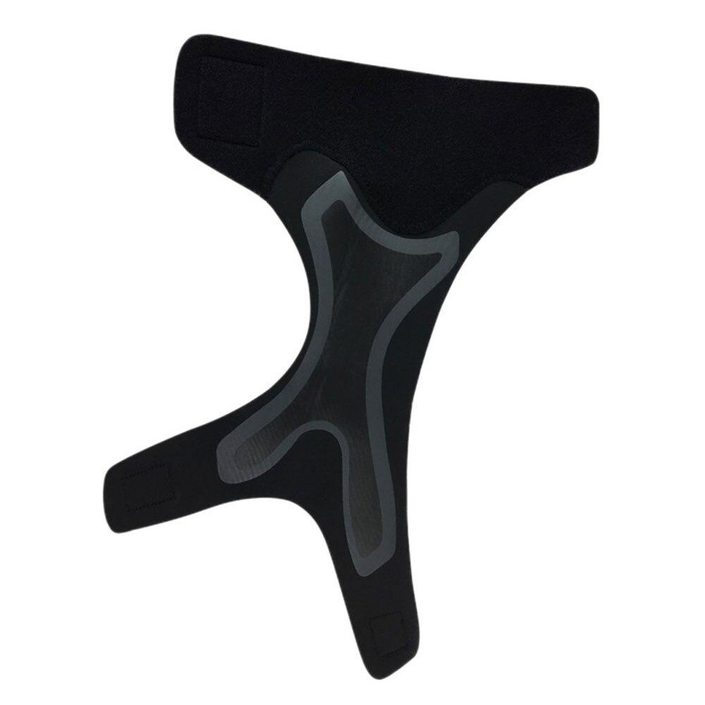Protección de pie Taekwon Do Kick The Ball movimiento tobillo vendaje práctico h012 deportes pierna entrenamiento esponja Protector negro