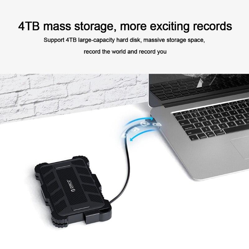 صدمات ريكو Usb3.0 قالب أقراص صلبة الحال بالنسبة لسمك 7-9.5 مللي متر سميكة SSD صندوق الخارجية Sata القرص الصلب صندوق تخزين