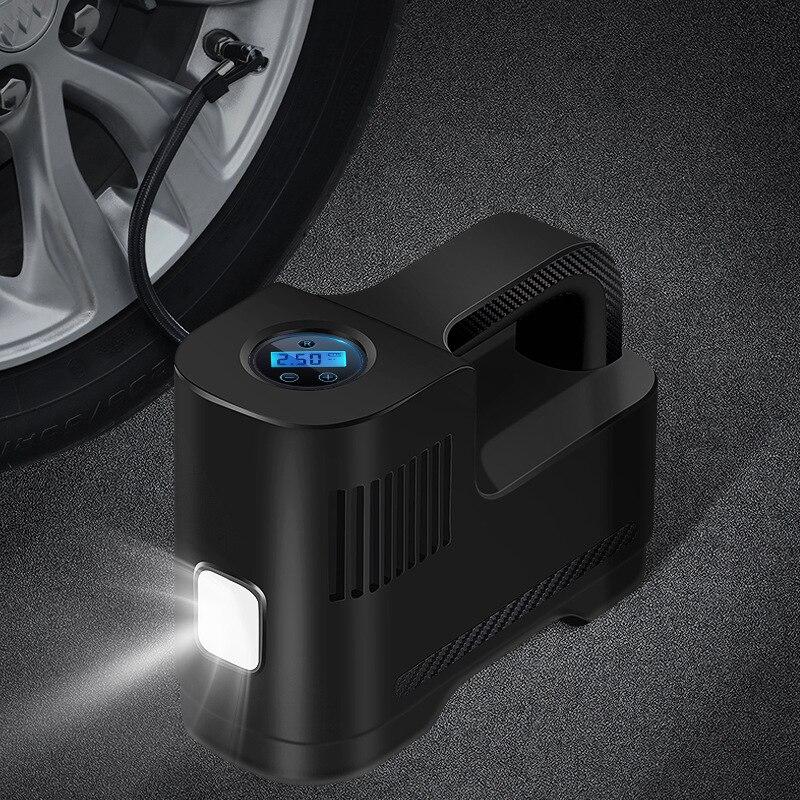 Compresor De aire De Ar, Inflador eléctrico De neumáticos, 12V, Compresor USB,...