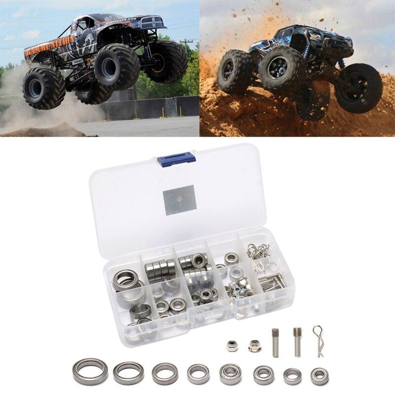 86pcs/box Metal Bearing and Lock Nut Kit for trx-4 1/10 RC Rock Crawler Car B36E enlarge