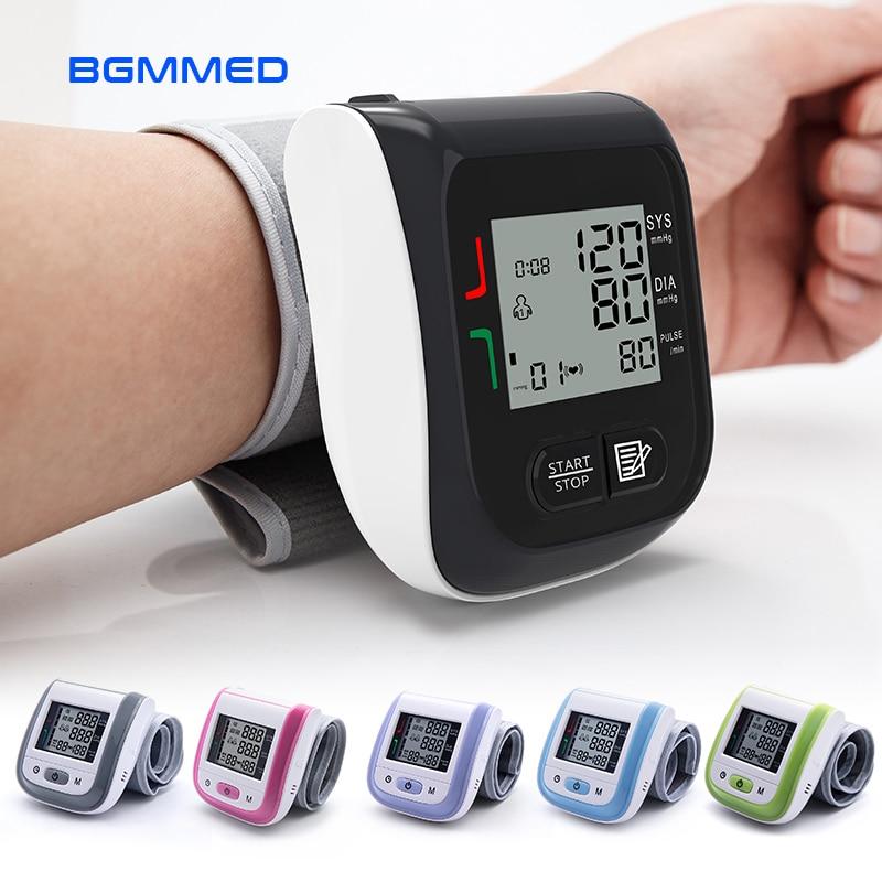 Medical Digital Blood Pressure Monitor Wrist Blood Tonometer Automatic Sphygmomanometer Blood Pressure Meter tensiometro lemaitre p blood wedding