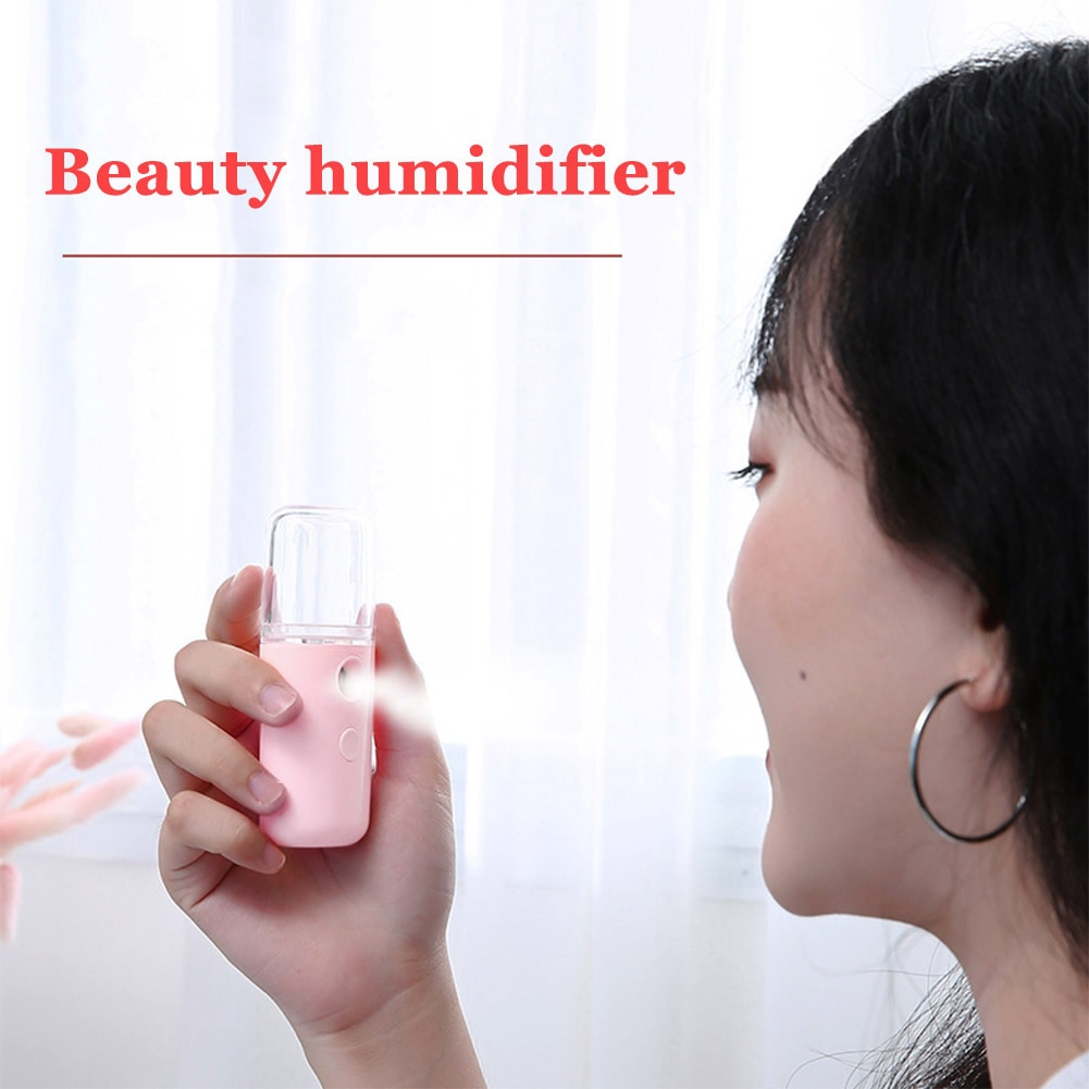Exfoliating Instrument Spot Cleaner Ultrasonic Essential Oil Steamed Face Moisturizing Diffuser Water Nano Sprayer Clean