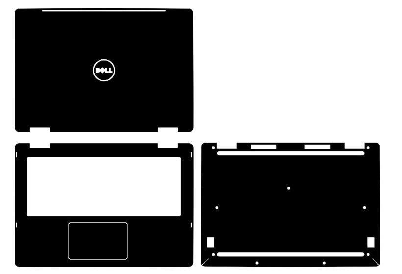 Especial portátil de fibra de carbono vinil adesivos de pele capa guarda para dell inspiron 7378 7368 i7378 i7368 2016 liberação 13.3-inch