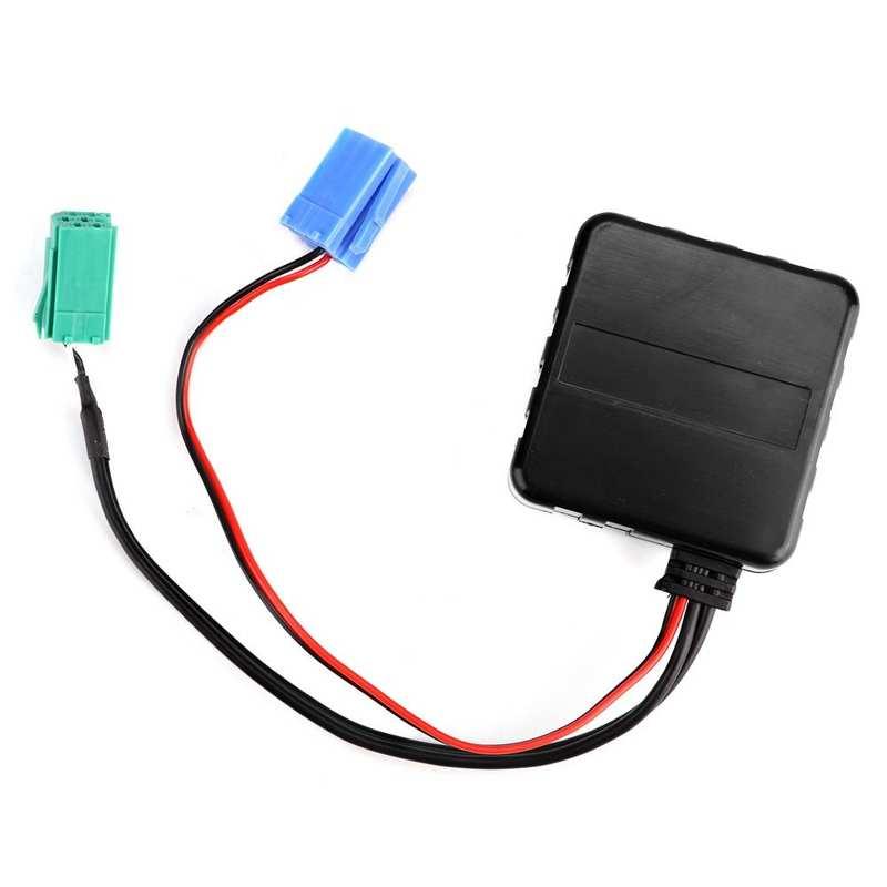 AUX аудио адаптер, высококачественный вспомогательный для Bluetooth автомобильные аксессуары, аудиокабель для Renault