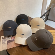 Hat Women's Korean-Style All-Matching Peaked Cap Ins Fashion Brand Casual Baseball Cap Men's Face-Lo