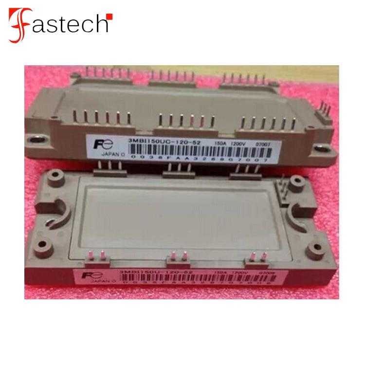 IGBT نموذج مشغل 150A 1200 فولت 3MBI150UC-120-52 / 3MBI150U-120-52 زوج من وحدات الترانزستور الطاقة