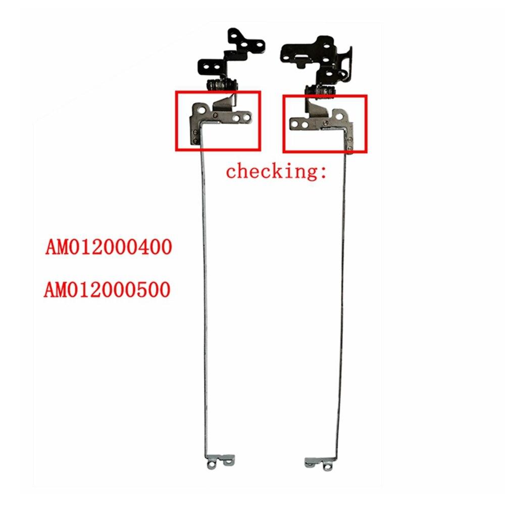 مفصلات بديلة لـ Acer One 722 AO722 ، أجهزة الكمبيوتر المحمولة ، مجموعة المفصلات ، AM012000400 ، AM012000500 ، اليسار واليمين