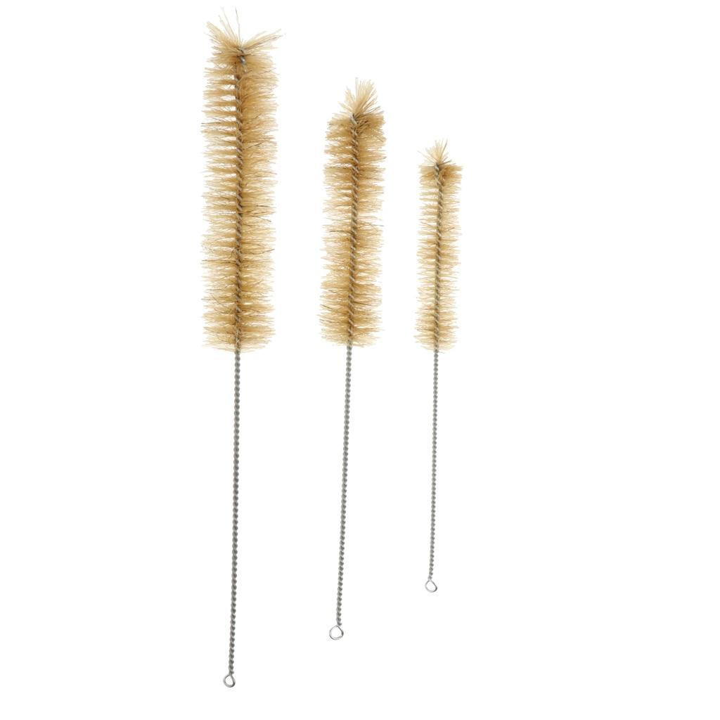 5pcs Chemistry Beaker Brush Bottle Beaker Bristles Cleaning Brush S M L
