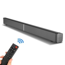 Barra de sonido de cine en casa YOUXIU de 40W, barra de sonido de 2,0 canales con Subwoofer incorporado con cable y altavoces inalámbricos Bluetooth 5,0