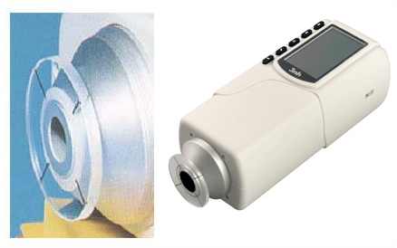 NR20XE  portable colorimeter  large caliber precision colorimeter for test surface stripes enlarge