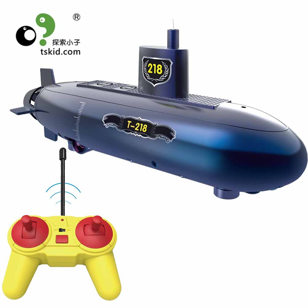 Funny RC Mini Submarine 6 Channels Remote Control Under Water Ship RC Boat Model Kids Educational St
