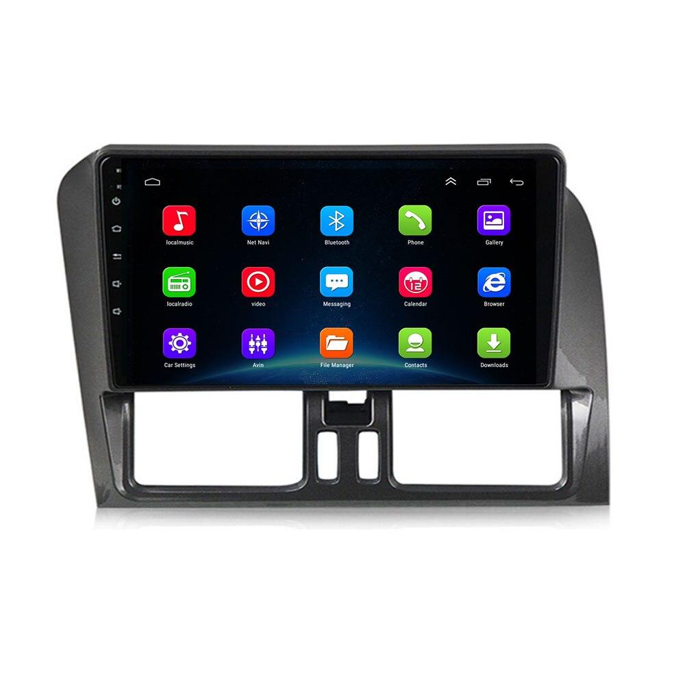 ¡En stock! 4G LTE Android 10,0 2 + 32G para Volvo XC60 2009, 2010, 2011, 2012 Multimedia estéreo reproductor de DVD del coche de navegación GPS Radio