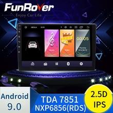 "Funروفر 2.5D + IPS أندرويد 9.0 راديو السيارة الوسائط المتعددة ل 9 ""10.1"" العالمي للتبادل سيارة تحديد مواقع لمشغل أقراص دي في دي 2 الدين سيارة ستيريو"