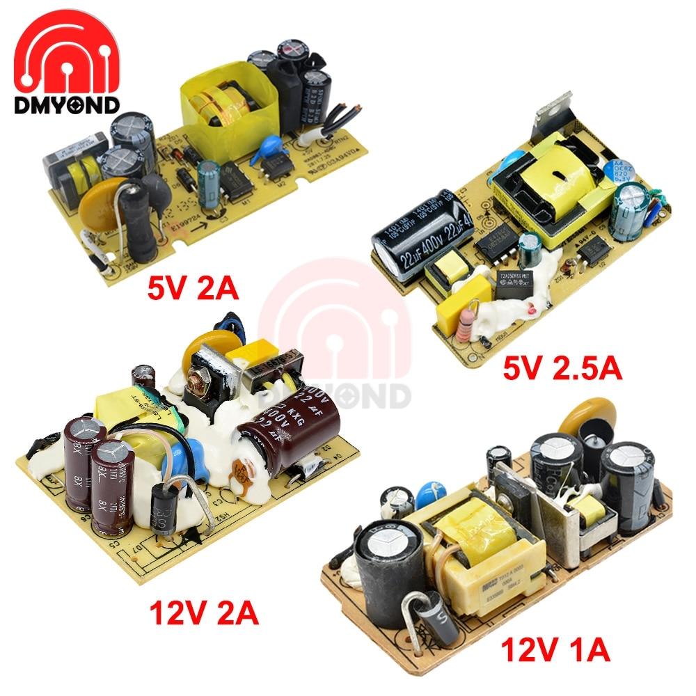 CA 100V-240V a cc 5V 2A/2,5a 12V 1A/2A, Módulo del interruptor de la fuente de alimentación, interruptor de sobretensión, protección contra cortocircuitos y sobrecorriente