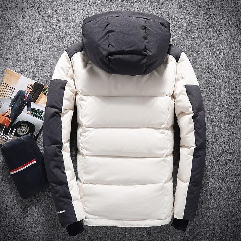 Chaqueta de plumón de pato Para Hombre, chaquetas informales de invierno, abrigo...