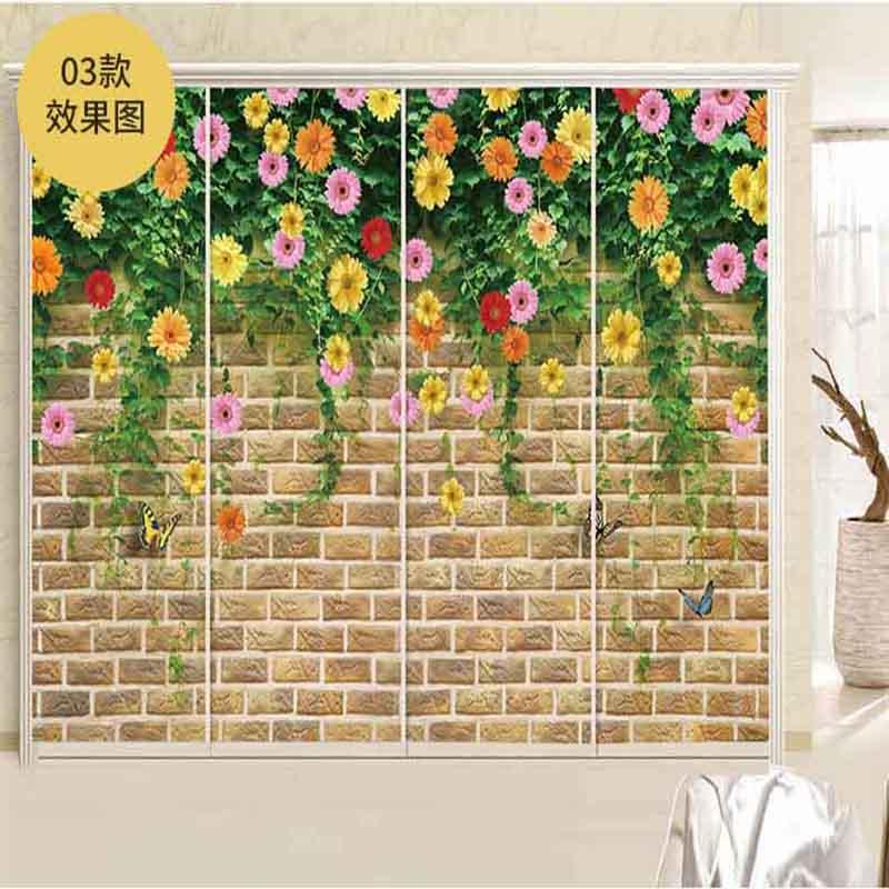 Personalizados adesivos de parede Pintura adesivos móveis adesivos etiquetas Da Janela Da Porta do banheiro filme Eletrostática Xuan portas do elevador.