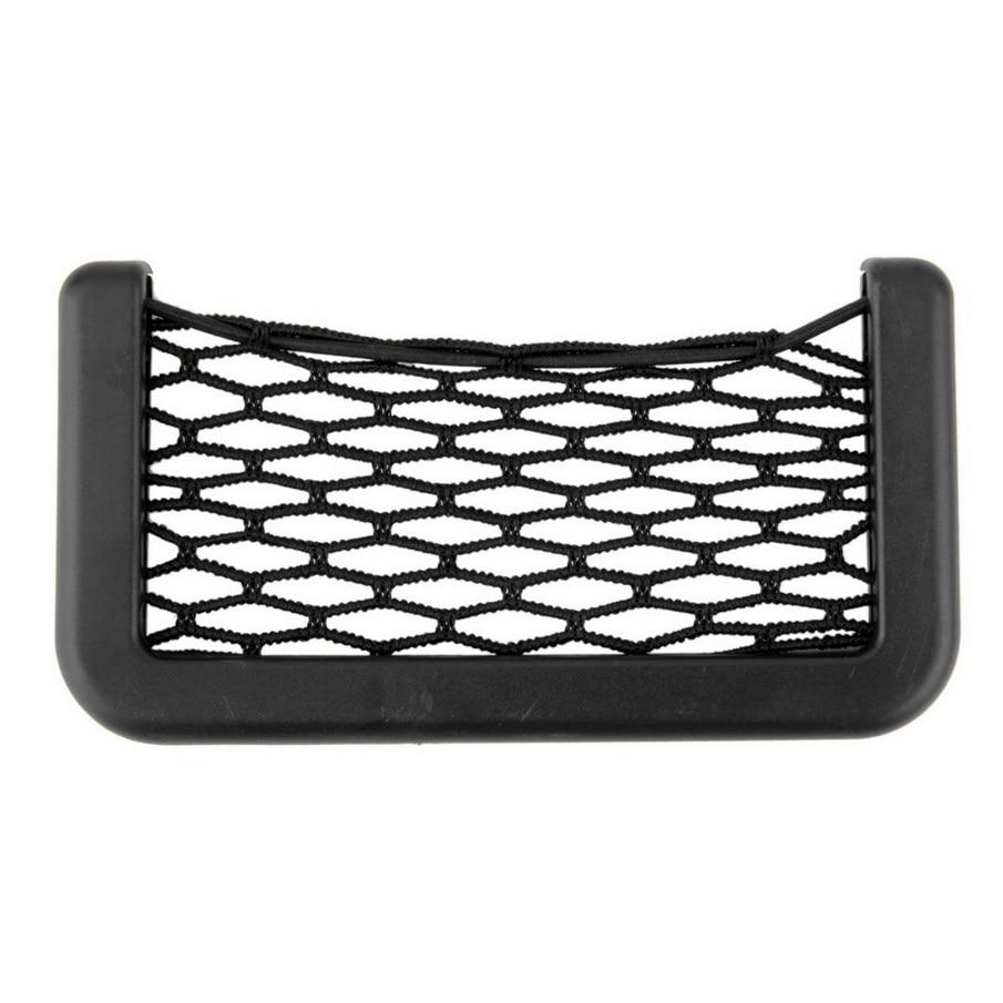 Новые автомобильные сетки-органайзеры, 15x8 см, Автомобильные карманы с клейким козырьком, автомобильная сумка для хранения инструментов