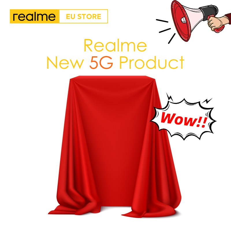 Перейти на Алиэкспресс и купить Realme 5G смартфон новейший продукт