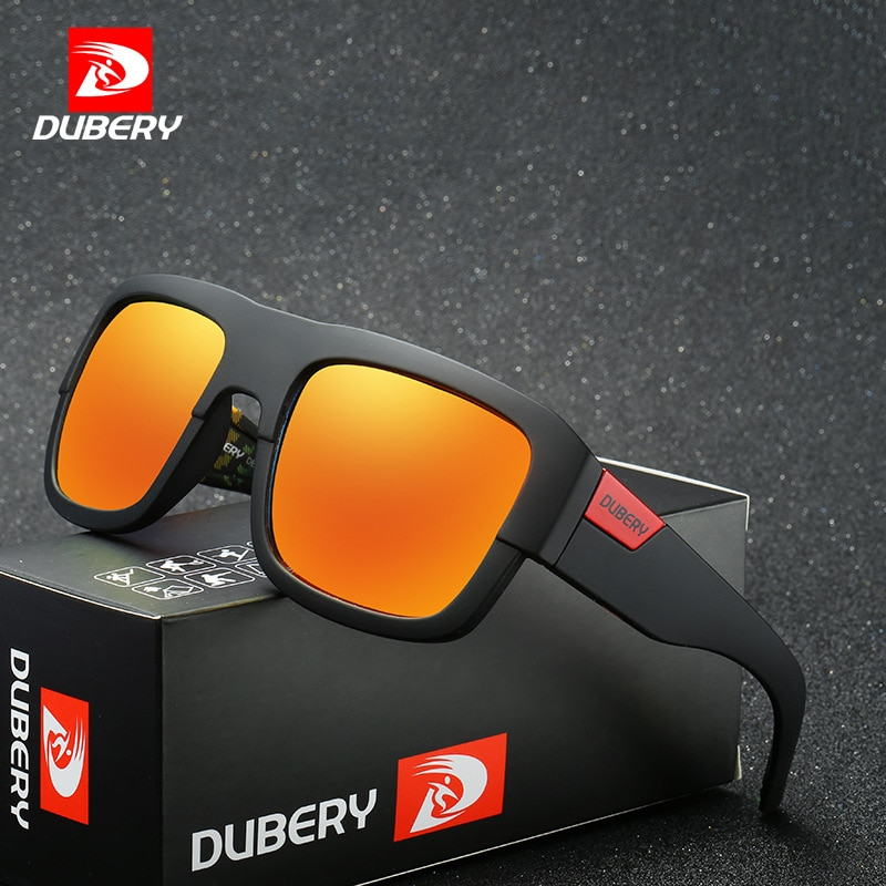 DUBERY Polarized Sunglasses Men's Shades Women Male Sun Glasses For Men Retro Cheap 2017 Luxury Bran