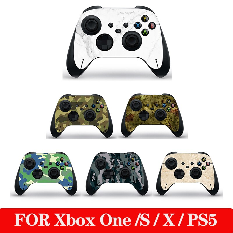 Decal Sticker For Microsoft Xbox One/Slim Controller Protective Cover Sticker For Xbox One Gamepad Skin Decal Game Accessories