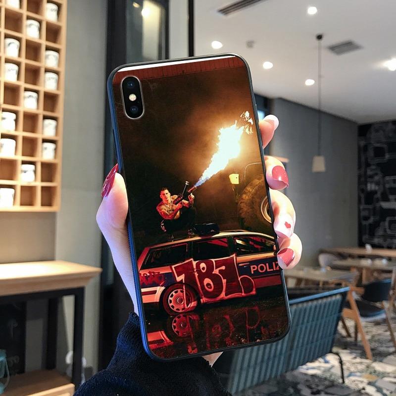 187 caso de telefone strassenbande para iphone xr x 6s 7 8 plus fundas apple 11 pro xs max se 2020 iphone 12 capas etui