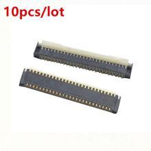 10 Uds interruptor Nintend reemplazo LCD táctil toma de pantalla conector enchufe pieza de reparación para Nintendo Switch NS NX
