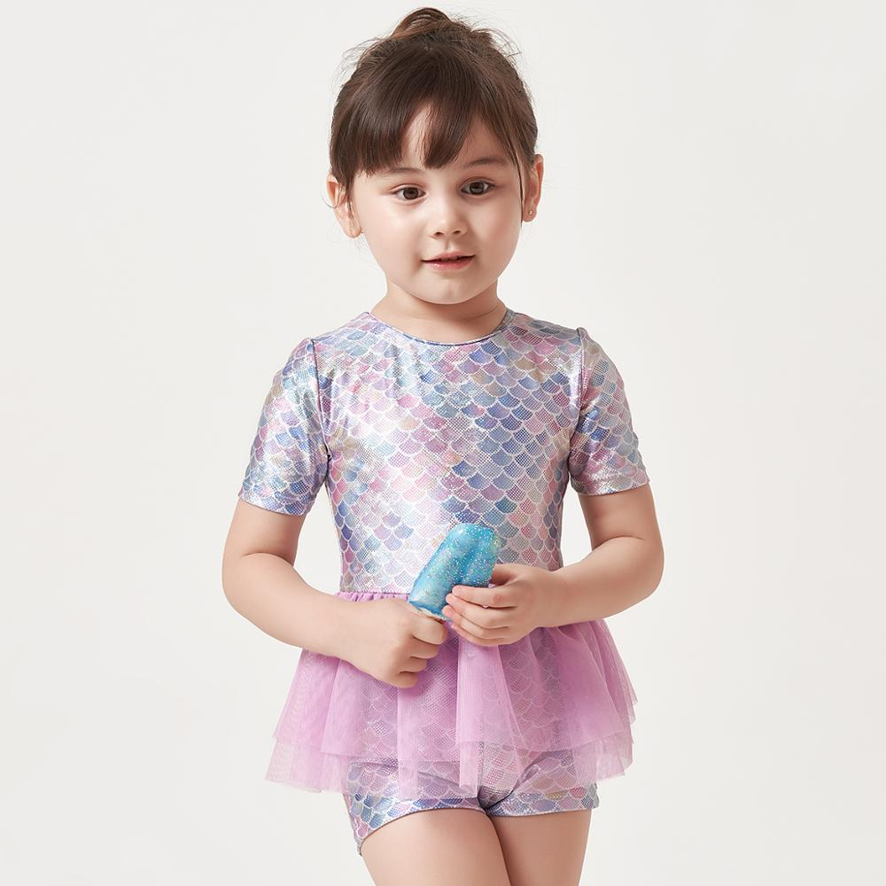 AliExpress - Julysand Girl Swimsuit High-end One Piece Swimsui Kids Lovely Mermaid Mesh Skirt Ruffles Skin CareBathing Suit for Toddler Girls