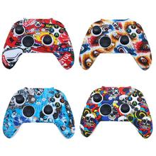 For Xbox Series S/X Controller Gamepad Silicone Cover Rubber Skin Case Protective Gamepad Cover Camo