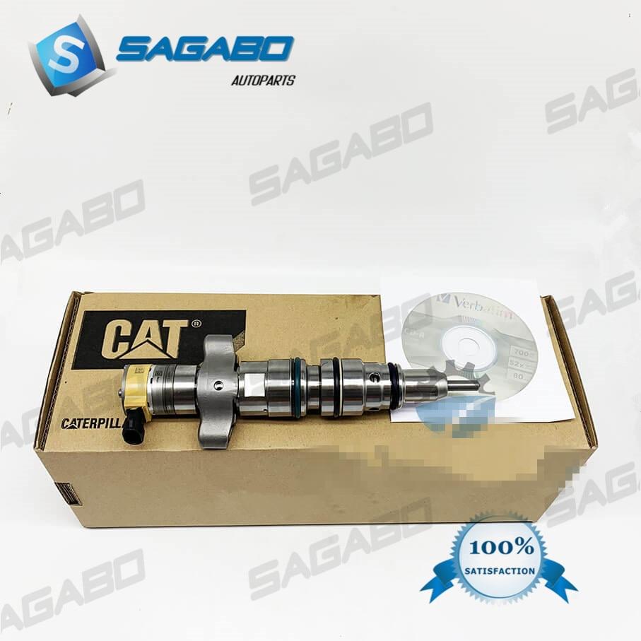 Injetor comum novo original 235-2888 do trilho de 6 pces 2352888 para o sistema do gato