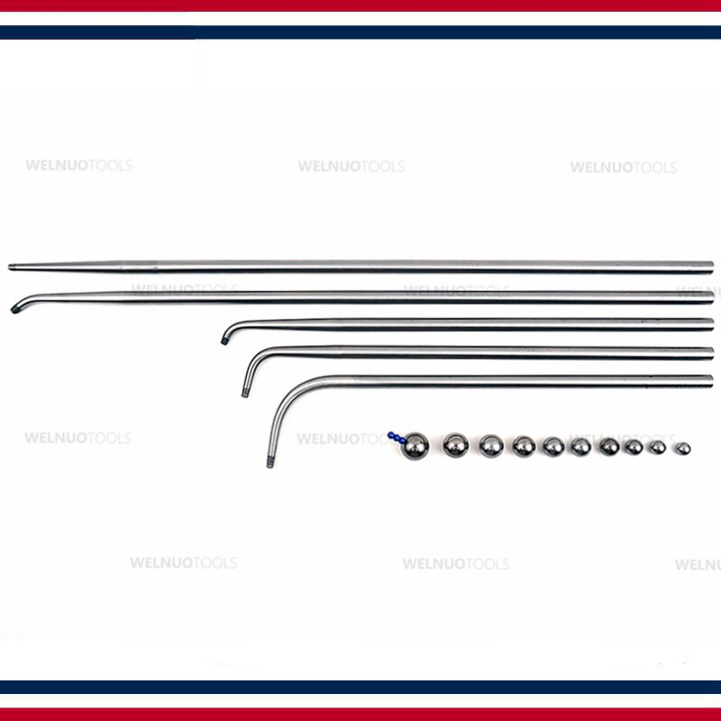 High quality Brass instrument sheet metal tool tuning pipe dent repair wind instrument repair sheet metal tool pit enlarge