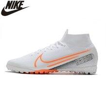 Nike Mercurial Superfly 7 Elite MDS TF bottes de football tricot gazon chaussures de football baskets hommes crampons Zapatillas Deportivas Hombre