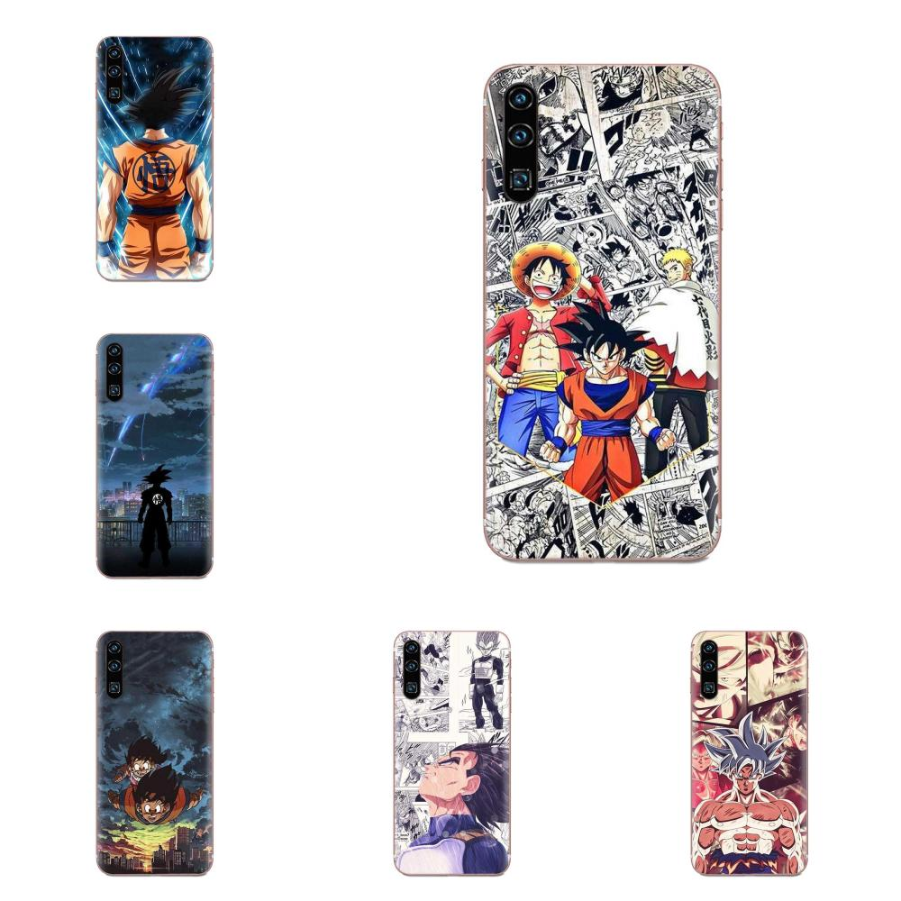 Para Motorola G G2 G3 G4 G5 G6 G7 Plus para Xiaomi Redmi Nota 8 8A 8T 10 K30 5G Pro Protector Soft TPU casos Dragon Ball Z Dbz ir