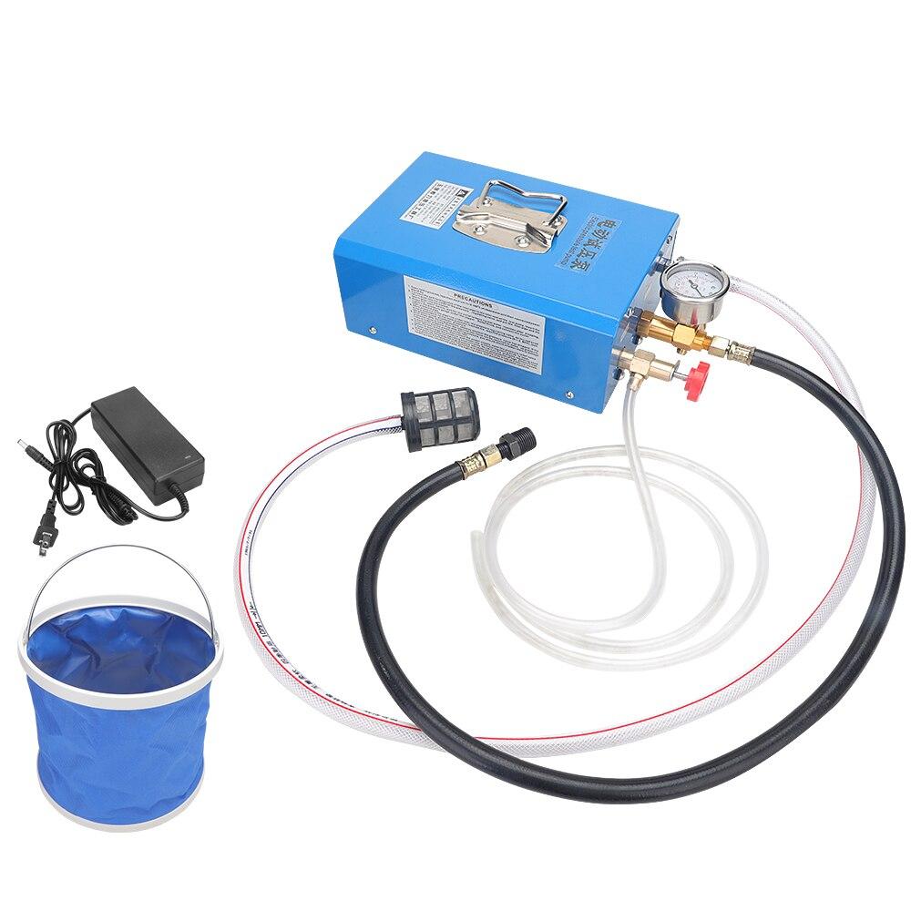 DSY-12 pressure pump portable manual electric pressure test pump PPR water pipe pressure measuring machine floor heating pump