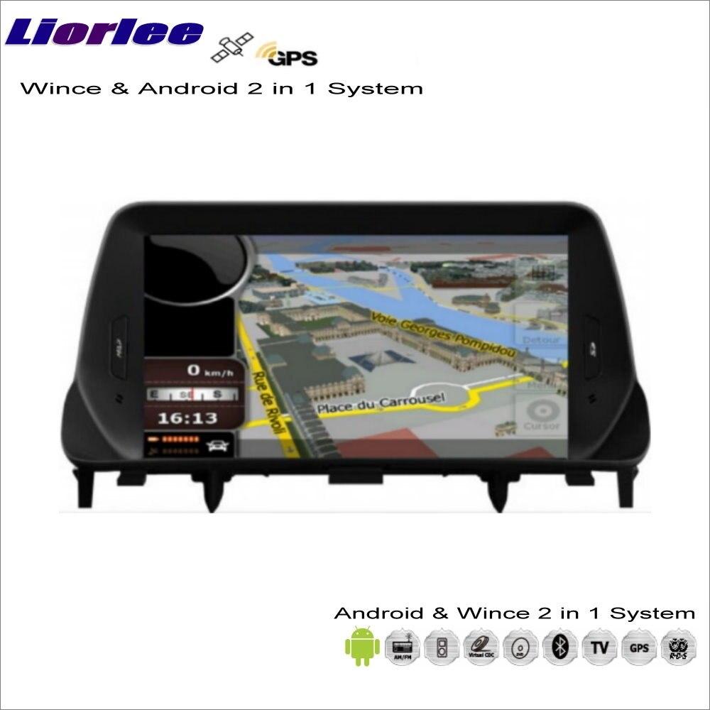 Liorlee para Buick Encore/para Opel/para Vauxhall Mokka 2012-2016, reproductor de CD DVD, navegador GPS Wince, sistema Android