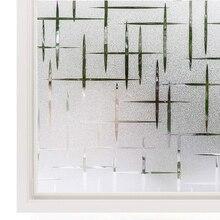 Luckyyj 3d janela filme de privacidade estática janela adere vinil decalques da janela etiqueta para porta vidro casa controle calor anti uv