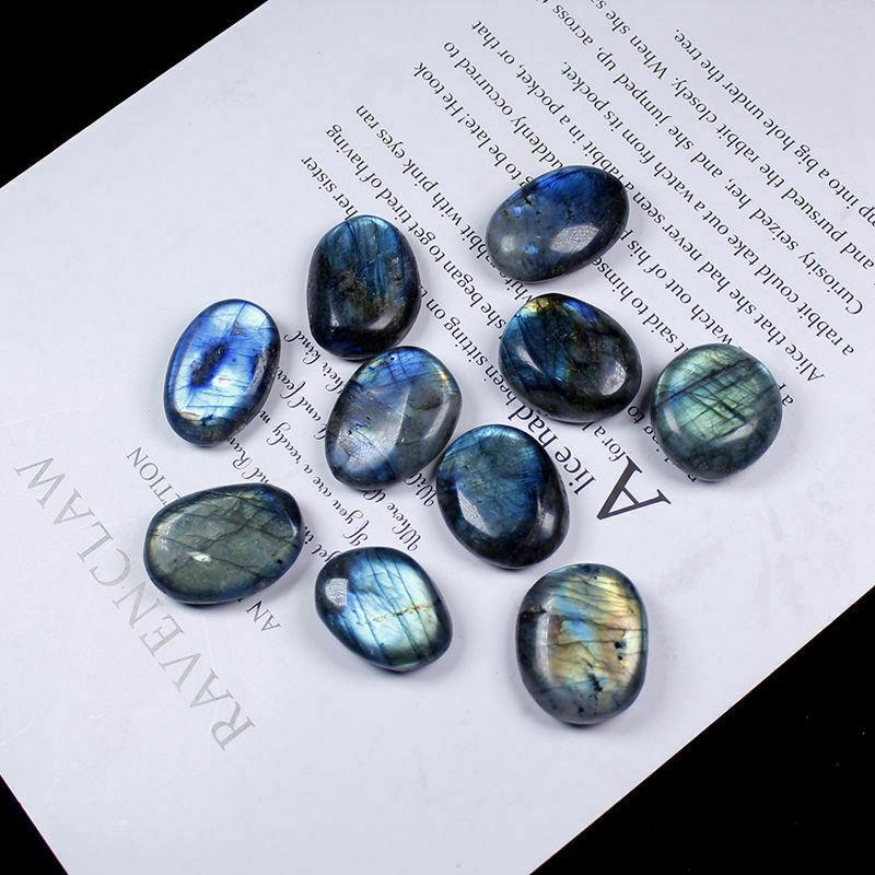 1 шт. натуральный лабрадорит, лунный камень, полированный кристалл, кварц, пальмовый камень, образец руды, 20-30 мм