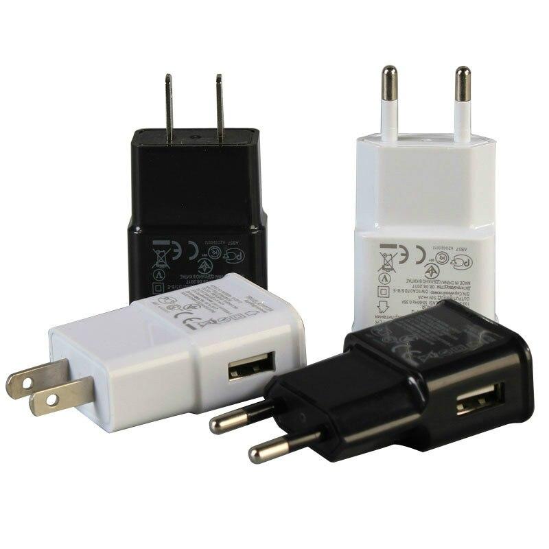 Plugue adaptador USB carregador, 5V 2A de parede para iphone Samsung Xiaomi carregador de celular iPad portátil viagem universal carregador de energia AC DA UE Carregador de MP3/MP4 Player    -