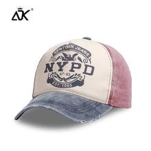 Gorras de béisbol de verano para hombre, gorras Retro lavadas de algodón para mujer, gorras de Hip Hop de moda, gorras de Snapback informales, sombreros ajustables Unisex