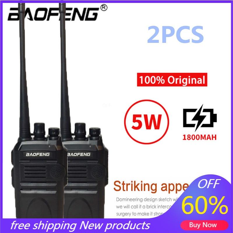 Портативная рация Baofeng BF-E51 Talkie, Портативная радиостанция, 2 шт., 5 Вт, УВЧ, 400-470 МГц, двусторонняя радиосвязь