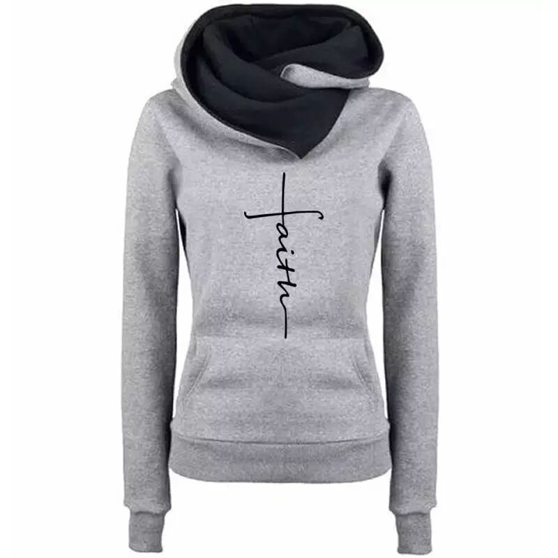 Solid Color Embroidered Hoodies Women Autumn Winter Plus Size Pocket Long Sleeve Fashion Slim Streetwear Hoodie Tops autumn winter solid color fashion print hoodies women plus size long sleeve slim streetwear pocket hoodie tops