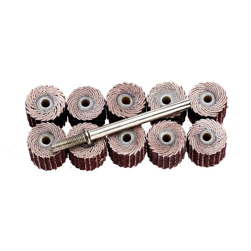 11 шт. набор шлифовальные диски для сыпучих материалов клапаном полировка шлифовальные машины сборки инструменты для снятия изоляции