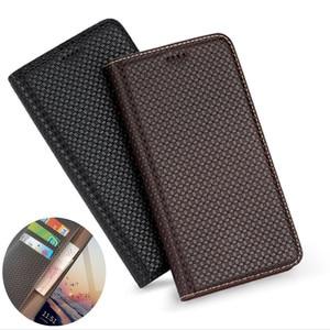 Genuine Leather Wallet Phone Case Card Holder For OPPO Reno 5 Pro Plus/OPPO Reno 5 Pro/OPPO Reno 5 Phone Case Magnetic Holder