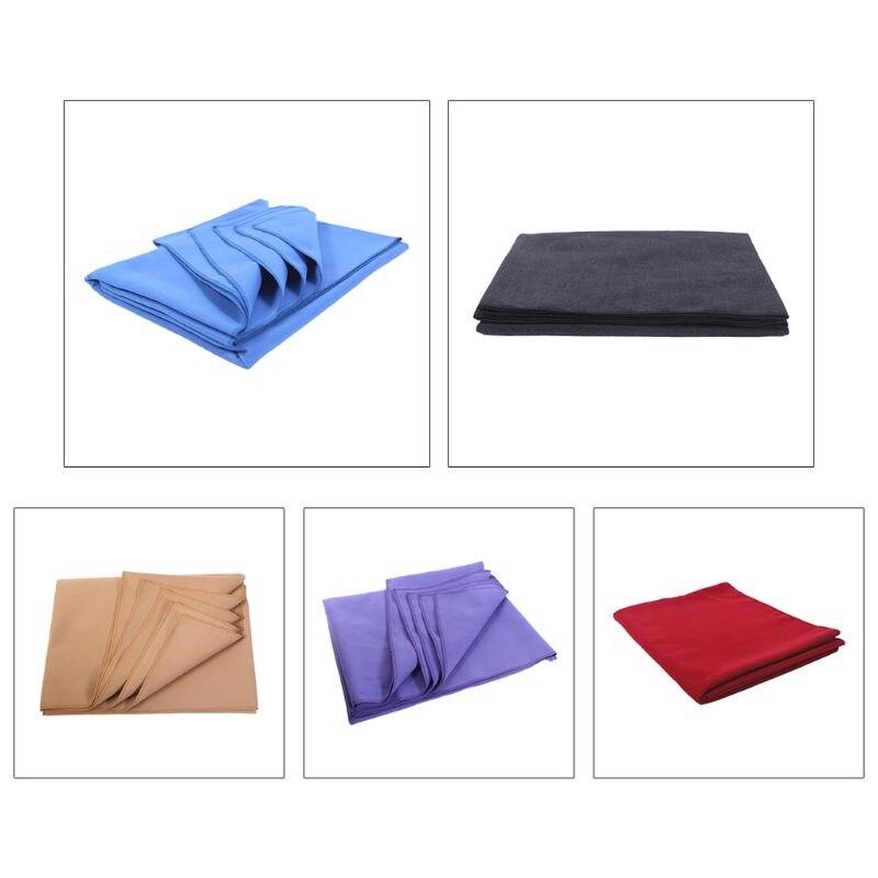 Toalla de Yoga con estampado de corbata colorida, Toalla de microfibra absorbente de sudor, esterilla de ejercicio antideslizante, manta de Pilates plegable con malla