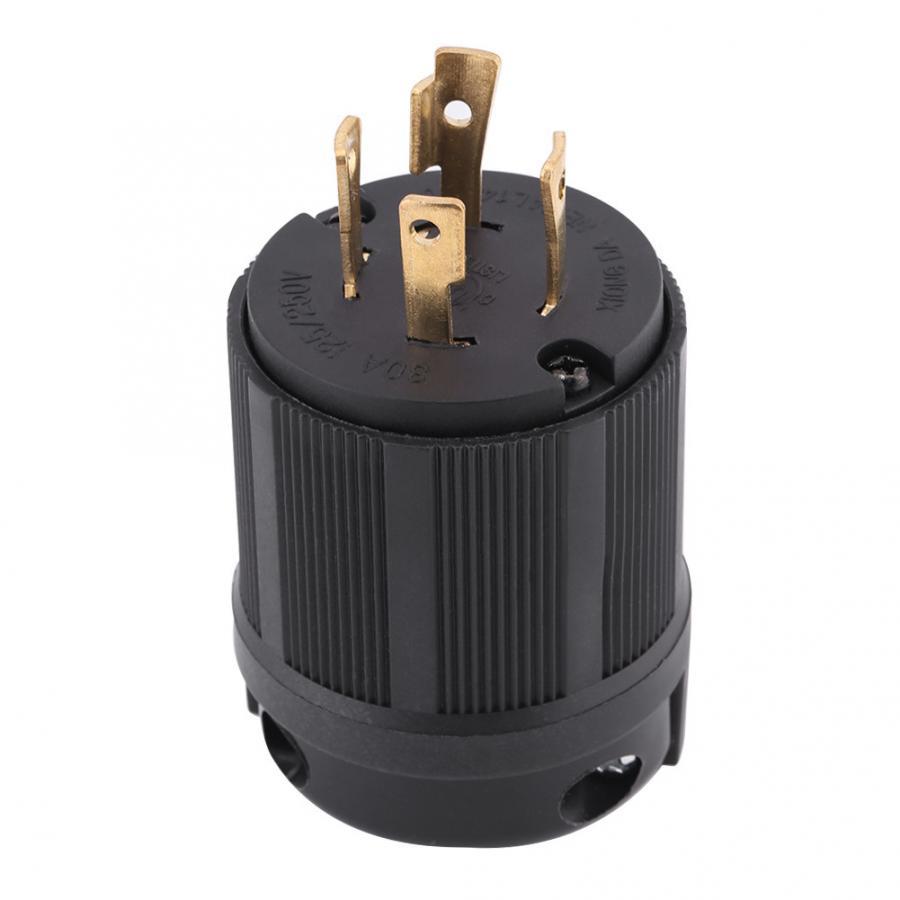 L14-30P 30A 125V-250V 4 Wire Twist Lock conector eléctrico conector de tira led