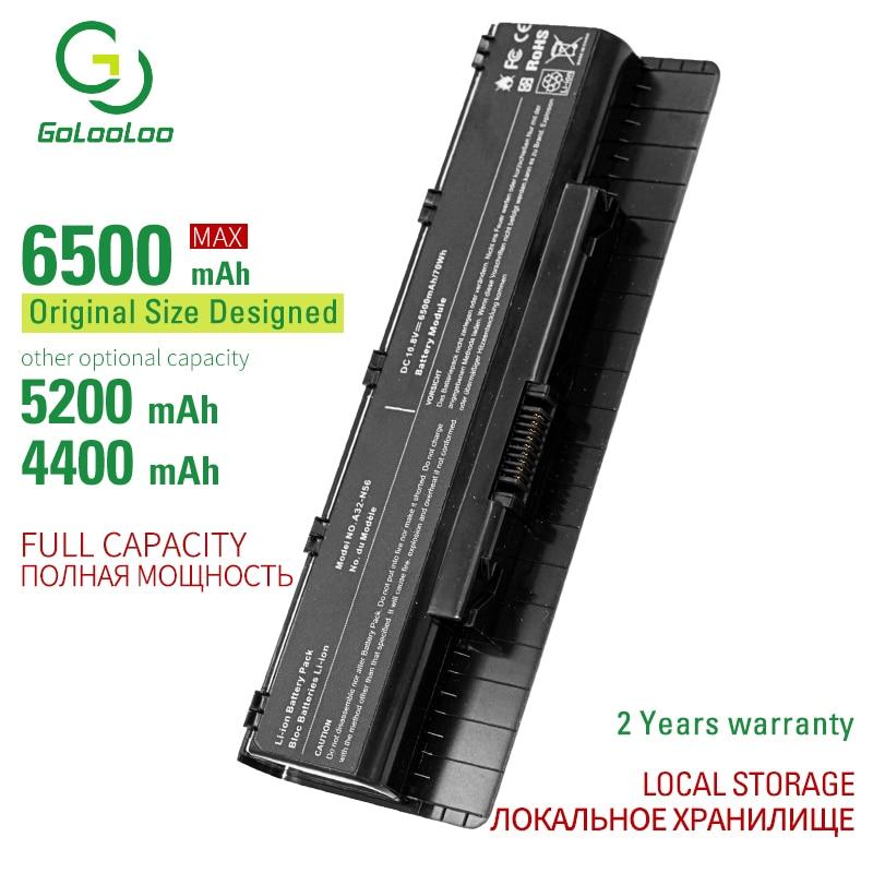 6 A33-N56 A32-N56 A31-N56 células Bateria Do Portátil Para Asus N56 N56D N56D N56DY N56J N56JK N56VM N56VV N56VZ N56JN N56JR N56V N56VB